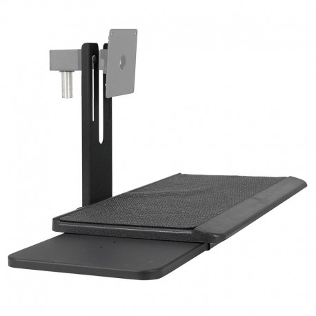 Flat Panel Display Keyboard and Mouse Holder