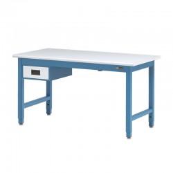 """IAC Heavy Duty Steel Workbench w/ 6"""" Drawer 30-36"""" x 48-96"""""""