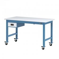 """IAC Mobile / Rolling Steel Workbench w/ 6"""" Drawer"""