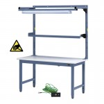 "IAC Heavy Duty Steel Workbench Bundle9 - 30-36"" x 48-72"""