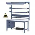 "IAC Heavy Duty Steel Workbench Bundle13 - 30-36"" x 48-72"""