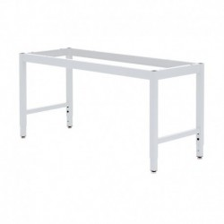 "LAB TABLE FRAME - ADJUSTABLE or FIXED 30-36"" (H) X 24-36"" (W) X 48-96"" (L)"