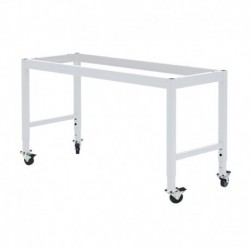 "MOBILE LAB TABLE FRAME - ADJUSTABLE 30-36"" (H) X 24-36"" (W) X 48-96"" (L)"