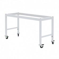 "MOBILE LAB TABLE FRAME - ADJUSTABLE 30-36"" (H) X 24-36"" (W) X 48-96"" (L)"