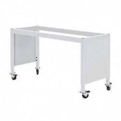 "MOBILE LAB TABLE FRAME - ADJUSTABLE 30-36"" (H) X 24-36"" (W) X 48-96"" (L) w/End Panels"