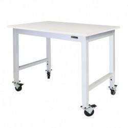 IAC Mobile / Rolling Lab Table - Laminate Top