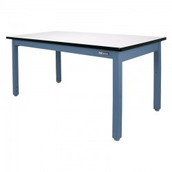 "Steel Industrial Workbench/Work Table 30-36"" by 60-72"""