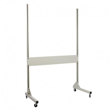 """IAC Mobile Packing & Shipping Stand w/ Casters – 60-70""""W x 84""""H"""